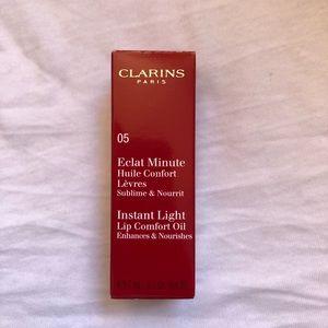 Clarins Instant Light Lip Comfort Oil 05 Tangerine